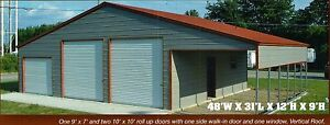 48x31 Garage Storage Free Del Install Serving Most States prices Vary