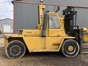 Caterpillar Forklift 30 000lb Diesel Runs Good V300