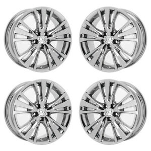 19 Lexus Rx350 Rx450 Pvd Chrome Wheels Rims Factory Oem Set 4 74254 Exchange