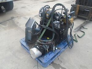 Berendsen Hydraulic Power Unit Model Sys3798r4 With Baldor Engine Vickers Pump