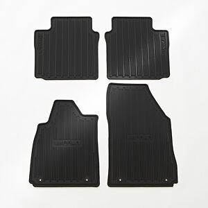 2014 2018 Chevrolet Impala Front Rear All Weather Floor Mats 22759780 Black Oe