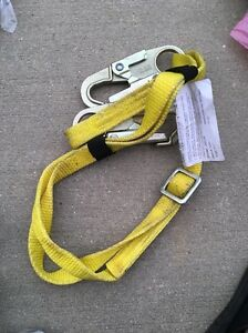 Elk River 29023 Centurionz Nylon Web Positioning Lanyard With Zsnaphook Each