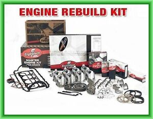 2001 2003 Chevy Gm Truck Car 325 5 3l W 4 8 Flattop Piston Ls Engine Rebuild Kit
