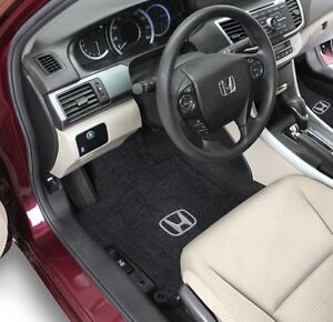 Honda Pilot Carpet Floor Mats 2pc Fronts Fits 2005 2008 W Logo 8 Colors