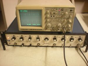 Exact Model 605 Programmable Waveform Generator Powers Up As Shown 6