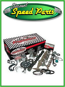 Enginetech 86 88 Sb Chevy 350 5 7l Master Rebuild Kit Flat Tops Stage 1 Camshaft
