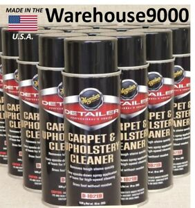 Meguiars Carpet And Upholstery Cleaner D 10219 12 Cans 1 Auto Detailer Choice