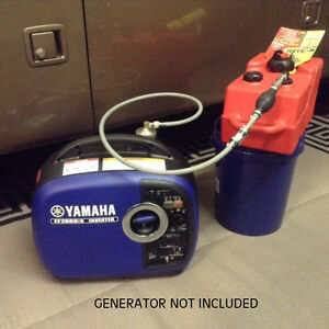 Yamaha Ef2000is Generator 3 Gal Ext Run Marine Fuel System single Line