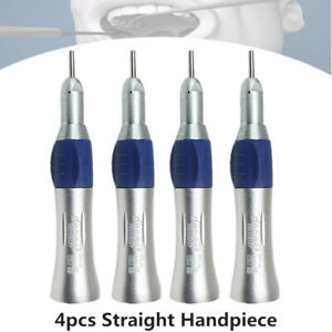 4 nsk Style Dental Slow Low Speed Handpiece Straight Nose Cone E type Us Ship