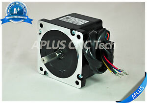 Nema 34 Stepper Motor 66mm 438oz in 5 6a 8leads For Cnc Router Mill Plasma