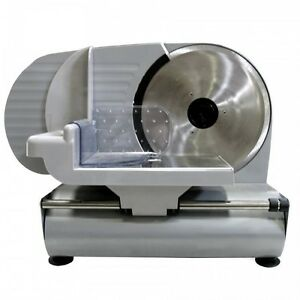 Meat Slicer Deli Blade Electric Cutter Food Cheese Kitchen Adjust Thin To 1 2in