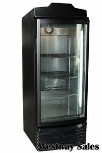 Idw G 8 Glass Door Display Refrigerator Merchandiser Black