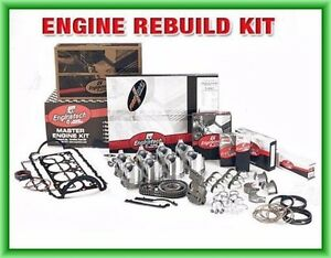 86 87 88 89 90 91 Chevy Gm Hd Truck Van 350 5 7l Ohv V8 Sbc Engine Rebuild Kit