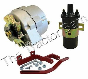 Farmall Ih 12 Volt Alternator Conversion Kit 100 200 A B C Super Tractor 6 Volt