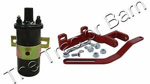 Farmall Ih 12 Volt Distributor Coil Alternator Bracket Kit 100 200 A B 6 Volt