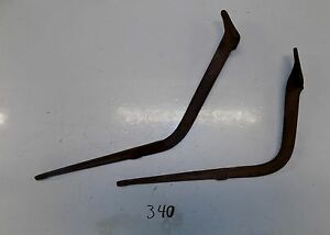 Model A Ford 1928 1929 Early Ar Forged Running Board Brackets