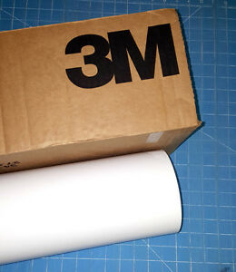 White 3m Scotchcal Series 50 1 Roll 24 X 30 Graphic Sign Cutting Vinyl