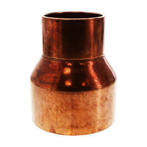 1 1 4 X 1 Coupling Reducer C X C Sweat Ends Copper Pipe Fitting