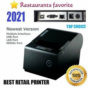 Pbm Pos P 822d 3 1 8 Thermal Receipt Usb Serial Ethernet Printer ship Same Day