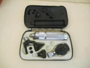 Make Offer Welch Allyn Otoscope Ophthalmoscope Diagnostic Set In Soft Case