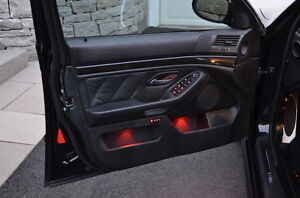 Bmw Amber Interior Led S Color Matched To Stock Lighting Straight From Germany
