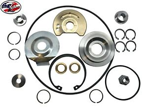 Upgrade Schwitzer Borg Warner S400 360 Degree Turbo Rebuild Kit