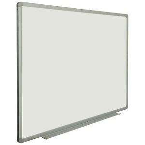 Porcelain Whiteboard White 48 X 36 Lot Of 1