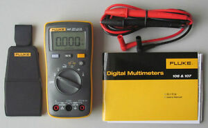 Fluke 107 Palm sized Portable handheld Digital Multimeter brand New F107