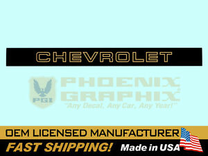 1988 1989 1990 1991 1992 1993 1994 Chevrolet Stepside Truck End Tailgate Decal