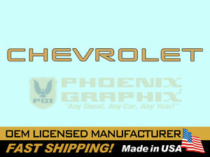 1994 1995 1996 1997 1998 1999 2000 2001 2002 Chevrolet S 10 Truck Tailgate Decal