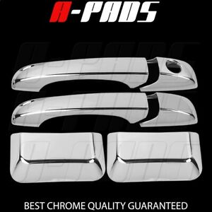 For Jeep Compass 2011 2012 2013 2014 2015 Chrome Door Handle Covers