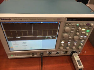 Tektronix Dpo7104 Digital Phosphor Oscilloscope Opt Asm dje lt
