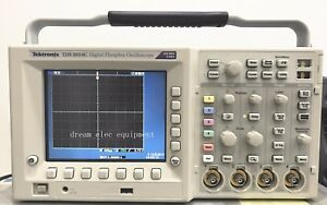 Tektronix Tds3054c 4 Channel Digital Phosphor Oscilloscopes