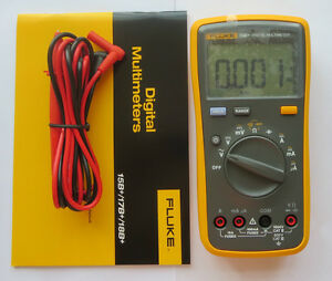 New Fluke 15b F15b Digital Multimeter Meter Led Backlight Larger Screen