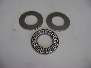 Axk1528 Thrust Needle Roller Bearing With Two Washers 15mm X 28mm X 2mm Frd173