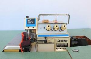 Juki Mo 2504 Overlock Serger 1 needle 3 thread As Industrial Sewing Machine 220v