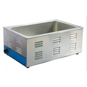 Stainless Steel Commercial Counter Top Food Warmer 110v
