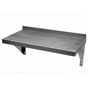 12 x24 Stainless Steel Wall Shelf