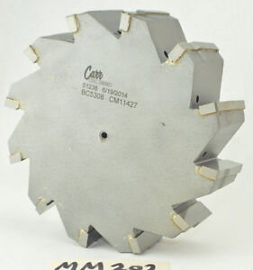 Carr Tool Company 6 1 4 Mill Port Tool Reamer Cutter Carbide Tip 1 1 2 Shank