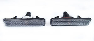Depo 2001 2006 Bmw E46 M3 Replacement Clear Fender Side Marker Light Set