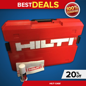 Hilti Case Te 22 case Only Preowned Hilti Grease For Free Fast Ship
