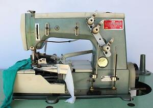 Rimoldi 261 Coverstitch 2 needle 1 4 3 thread Binder Industrial Sewing Machine