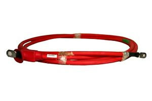 Red Sgt Battery Cable 2 Gauge 12 Foot 7 16 1 4 Ring