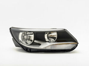 Hella Right Side Passenger Headlight With Drl For Vw Tiguan Facelift From 2011