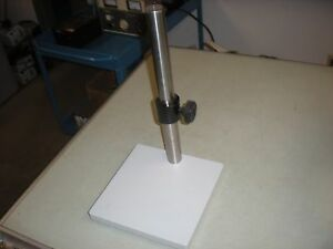 Microscope Base And 1 475 Diameter Post Stand With Height Lock Collar 3