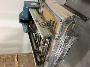 Lot Of 2 American M m Screen Printer Table