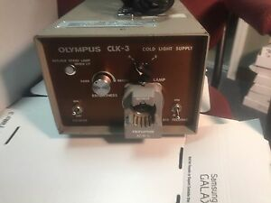 Olympus Clk 3 Cold Light Power Supply Source