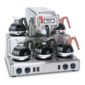 New Bunn 12 Cup Auto Coffee Brewer With 5 Warmers Rtf
