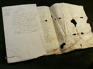 Antique Parchment 1580