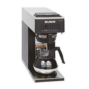 New Bunn Low Profile Pourover Coffee Brewer With 1 Warmer Vp17 1 Black